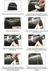 Anleitung Haarverlaengerung Waermezange hermosisimo