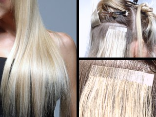 Goop Hair Tape In Extensions